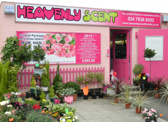 heavenly scent florists about us