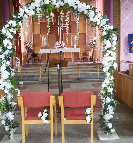 wedding hire room decoration service