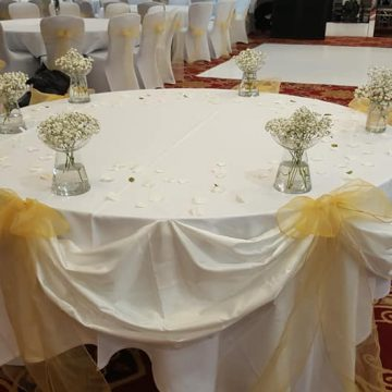 Wedding Table Linen