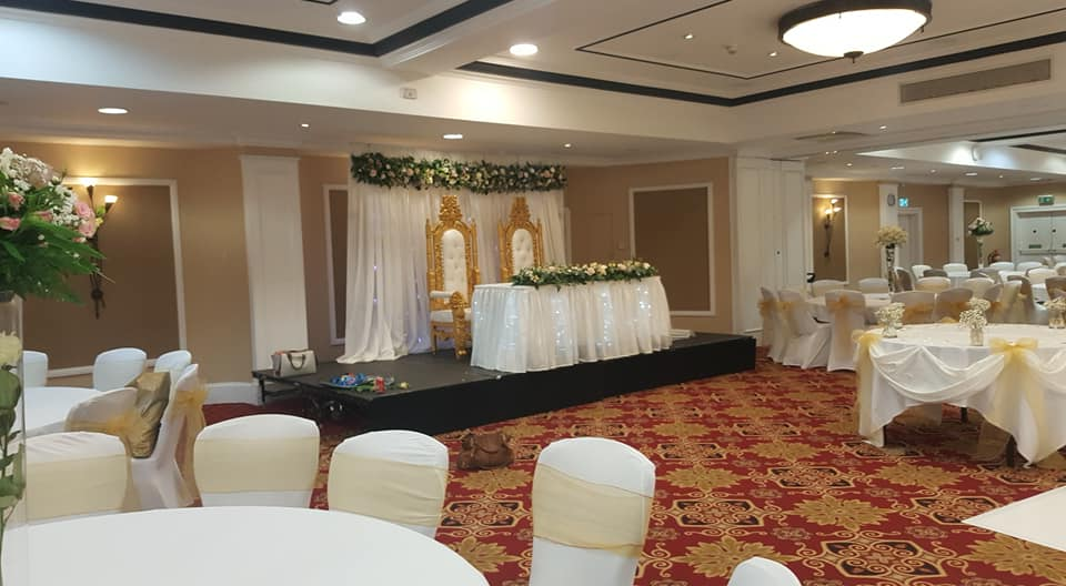 wedding hire chair, table & room decoration service